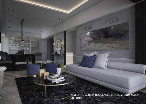 2BR Unit The Gentry Residences Condo Makati
