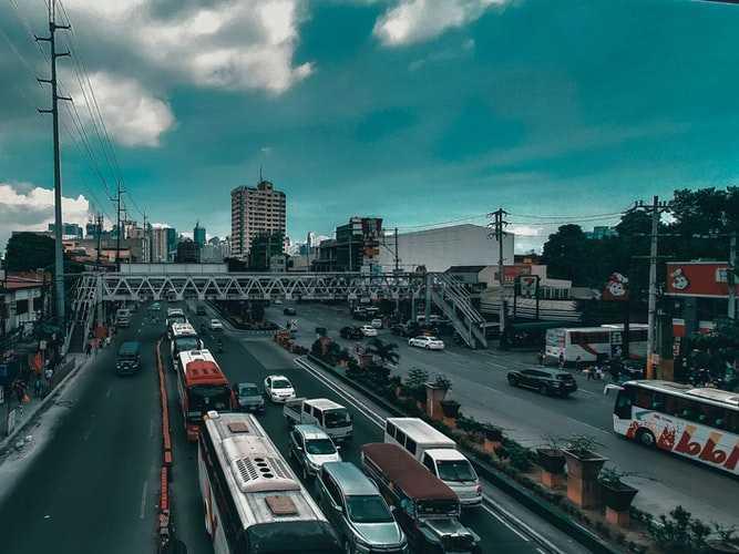 Manila's road network