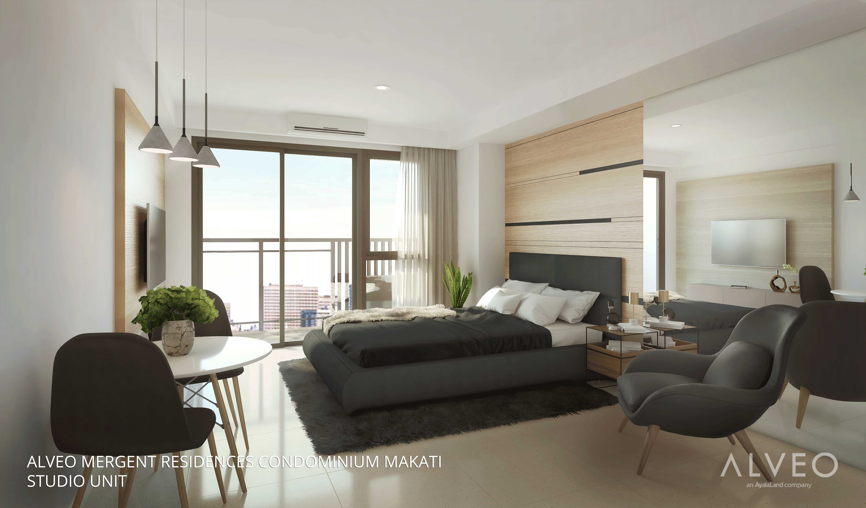 Studio Unit Mergent Residences Condo Makati
