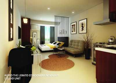 Studio Unit The Lerato Condo Makati