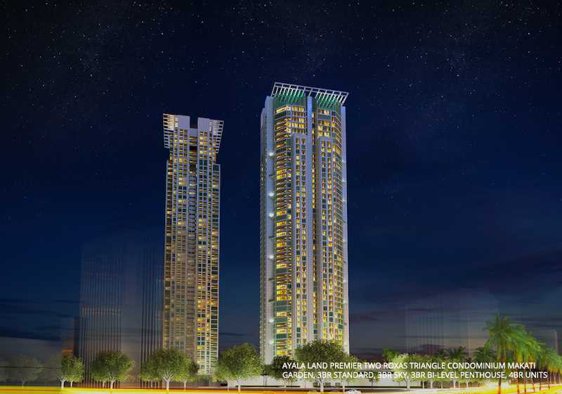 Two Roxas Triangle Condominium Makati